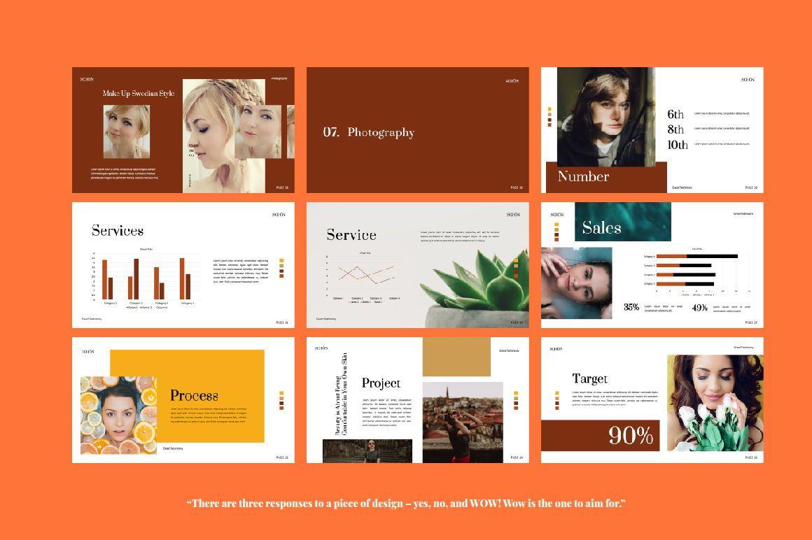 Schon Creative Keynote, Slide 2, 06064, Presentation Templates — PoweredTemplate.com