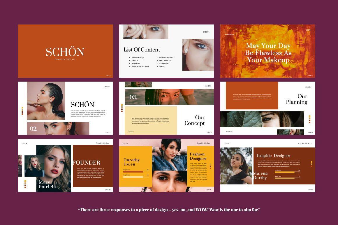 Schon Creative Keynote, Slide 6, 06064, Presentation Templates — PoweredTemplate.com