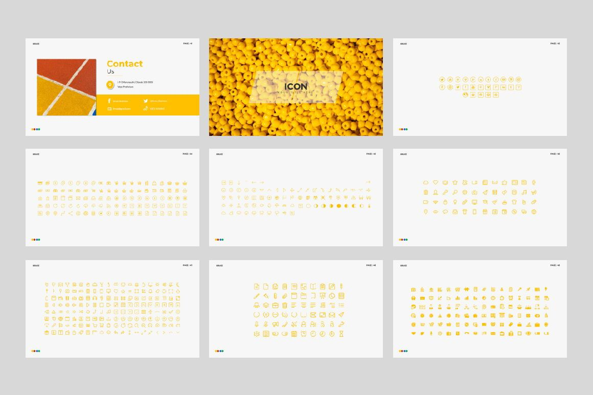 Bruce Creative Powerpoint, Slide 6, 06071, Presentation Templates — PoweredTemplate.com
