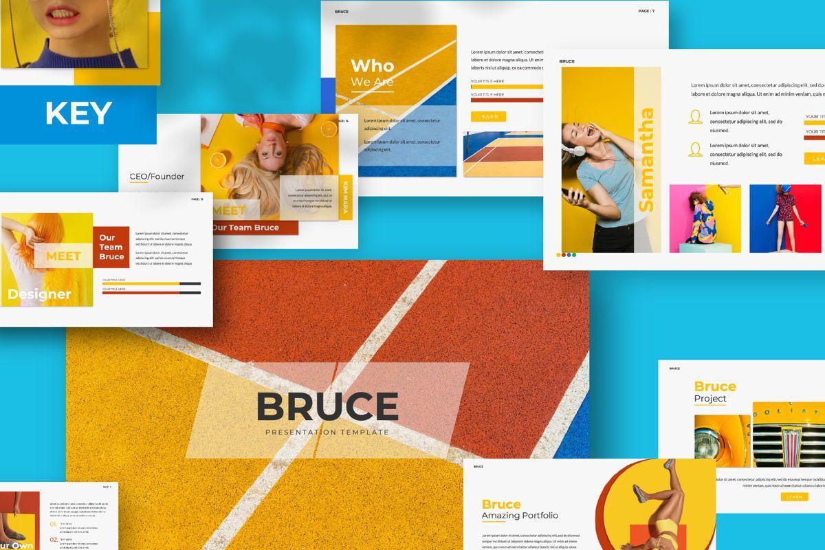 Bruce Creative Keynote, 06072, Presentation Templates — PoweredTemplate.com