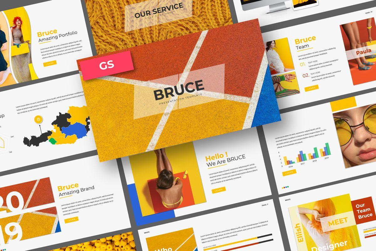 Bruce Creative Google Slide, 06073, Presentation Templates — PoweredTemplate.com