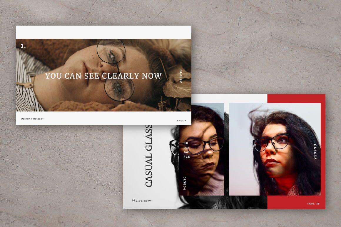 Glasez Creative Google Slide, Slide 7, 06076, Presentation Templates — PoweredTemplate.com