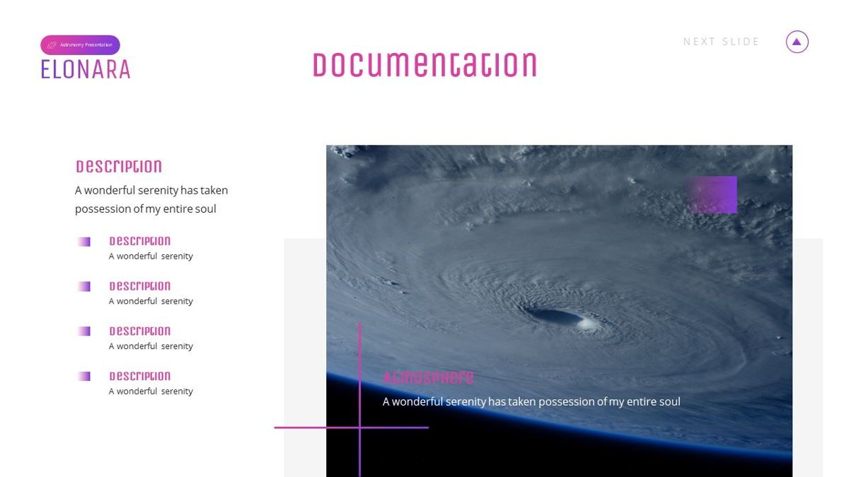 Elonara - Astronomy Powerpoint Template, Slide 19, 06080, Diagrammi e Grafici con Dati — PoweredTemplate.com