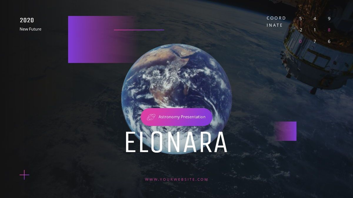 Elonara - Astronomy Powerpoint Template, Slide 2, 06080, Diagrammi e Grafici con Dati — PoweredTemplate.com
