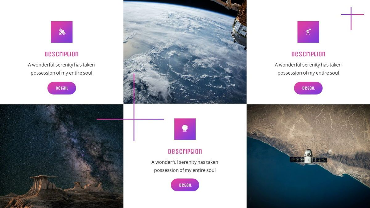 Elonara - Astronomy Powerpoint Template, Slide 20, 06080, Diagrammi e Grafici con Dati — PoweredTemplate.com