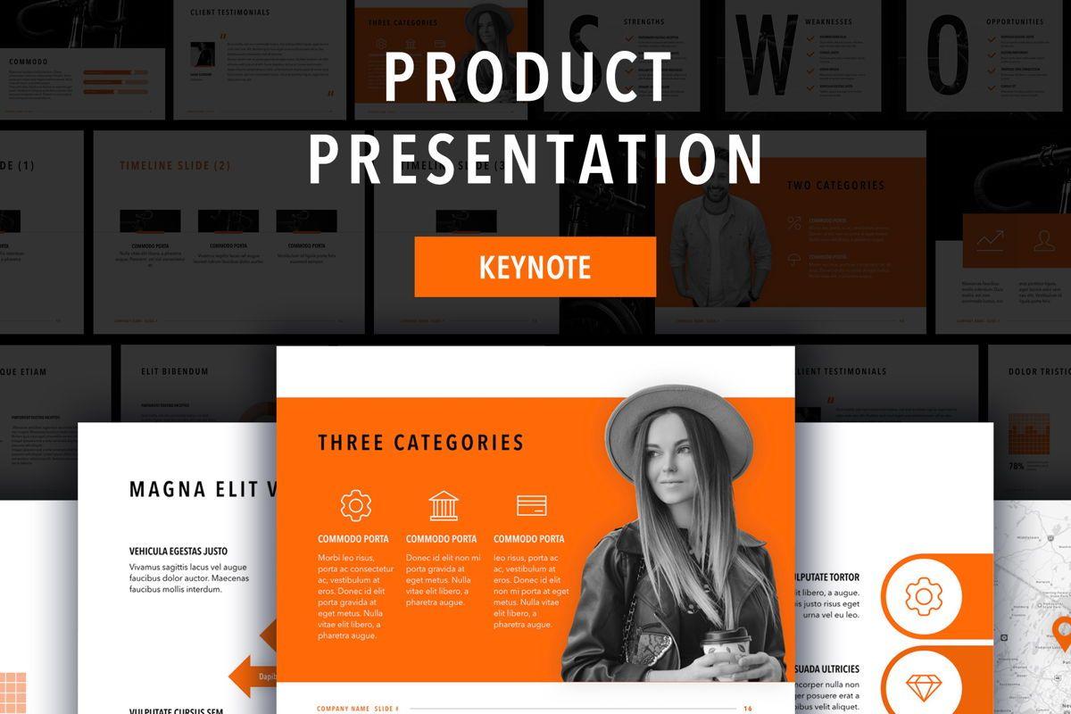 Sprint Keynote Template, 06083, Presentation Templates — PoweredTemplate.com