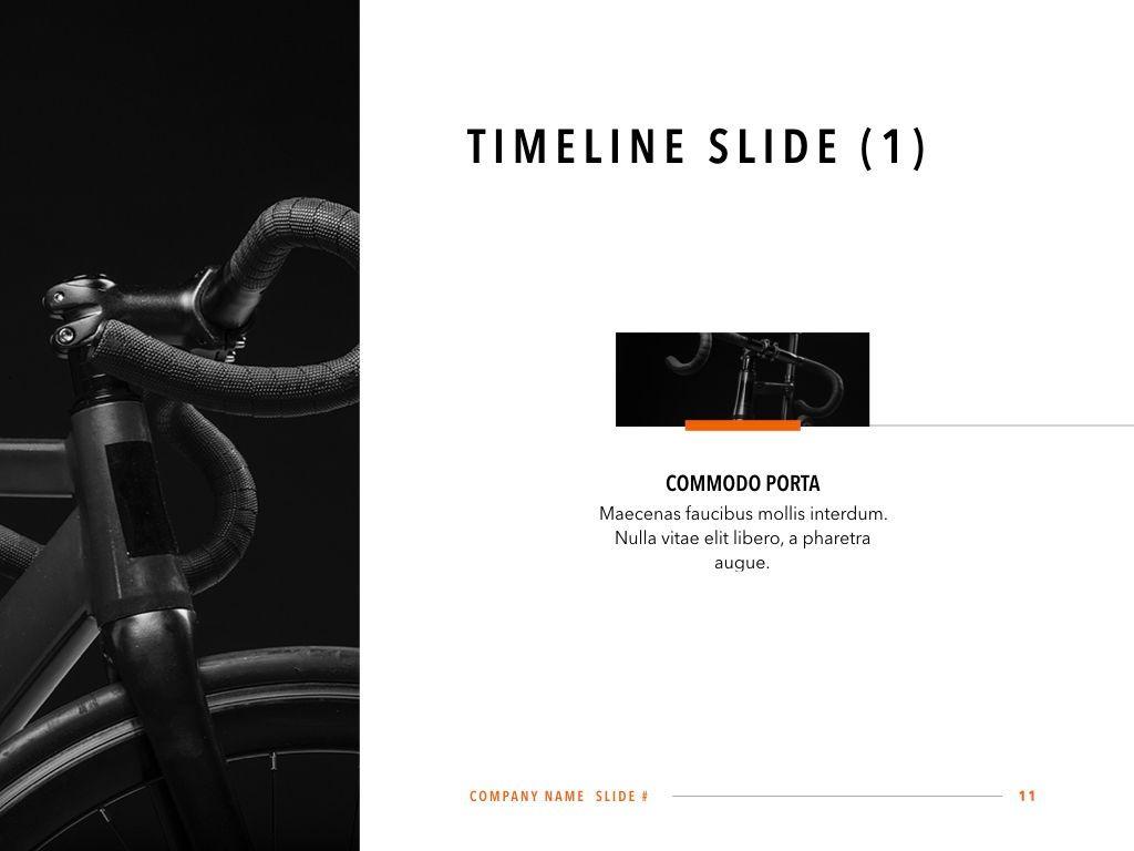 Sprint Keynote Template, Slide 12, 06083, Presentation Templates — PoweredTemplate.com