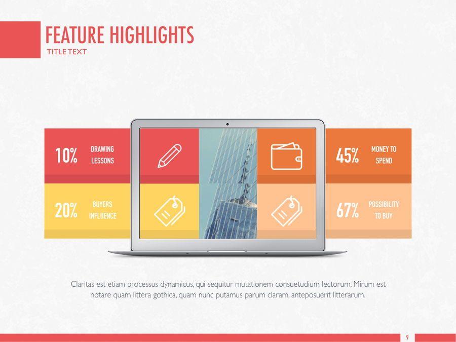 Sharp Edges PowerPoint Template, Slide 10, 06084, Presentation Templates — PoweredTemplate.com