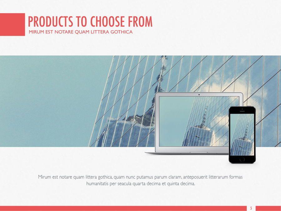 Sharp Edges PowerPoint Template, Slide 6, 06084, Presentation Templates — PoweredTemplate.com
