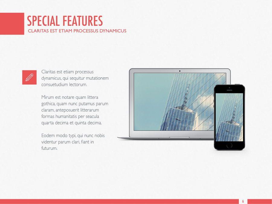 Sharp Edges PowerPoint Template, Slide 7, 06084, Presentation Templates — PoweredTemplate.com