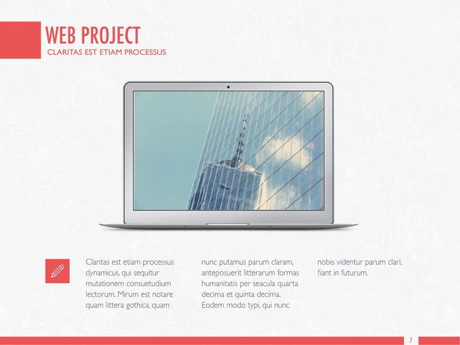 Sharp Edges PowerPoint Template, Slide 8, 06084, Presentation Templates — PoweredTemplate.com