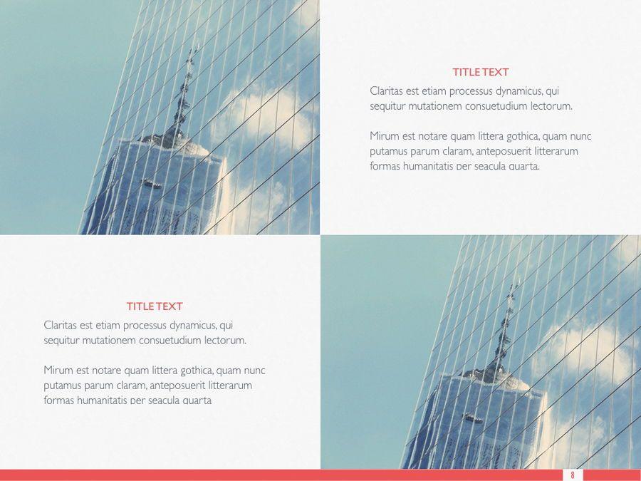 Sharp Edges PowerPoint Template, Slide 9, 06084, Presentation Templates — PoweredTemplate.com