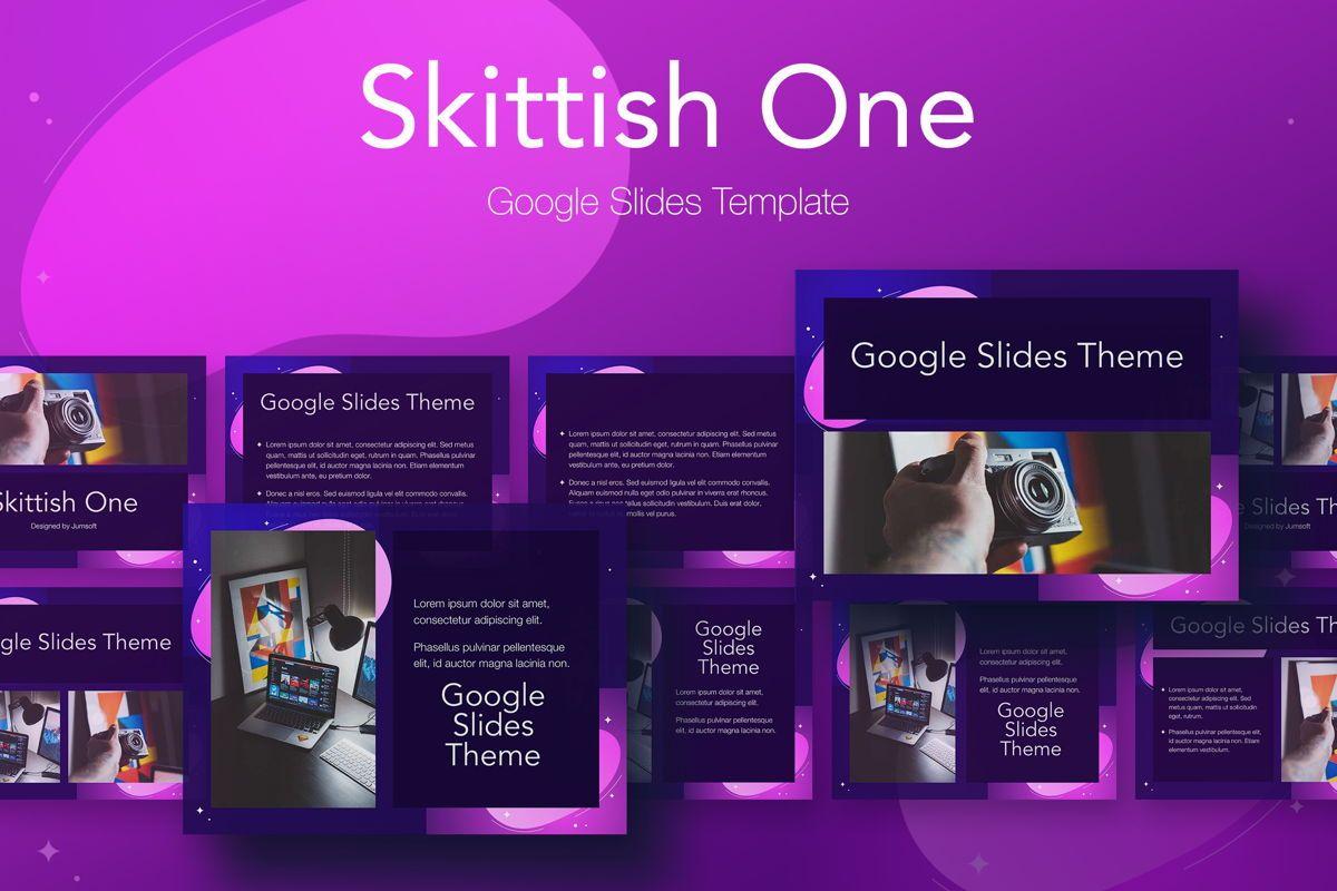 Skittish One Google Slides Template, 06085, Presentation Templates — PoweredTemplate.com