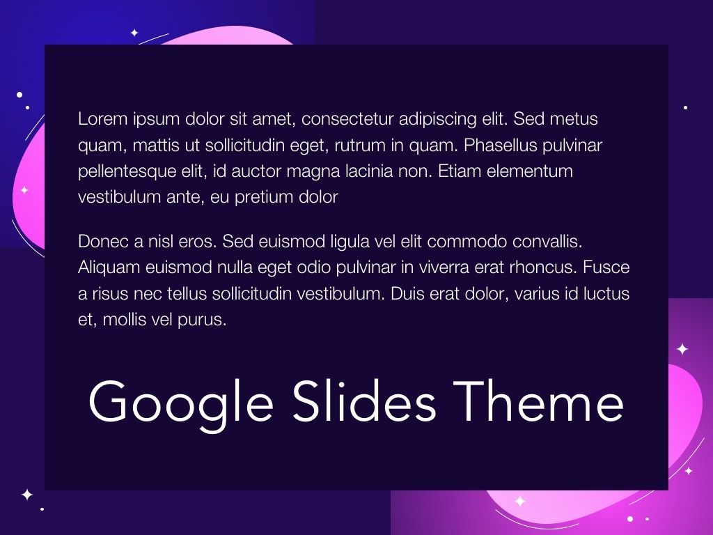 Skittish One Google Slides Template, Slide 10, 06085, Presentation Templates — PoweredTemplate.com