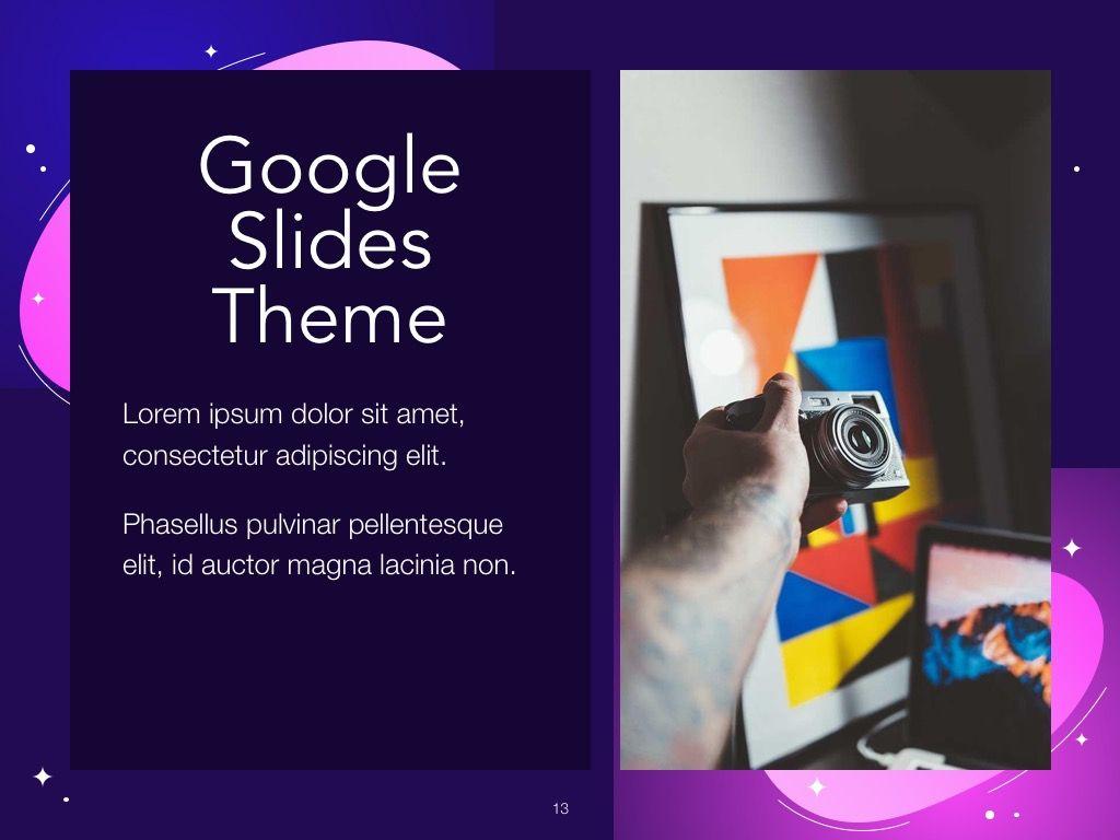 Skittish One Google Slides Template, Slide 14, 06085, Presentation Templates — PoweredTemplate.com