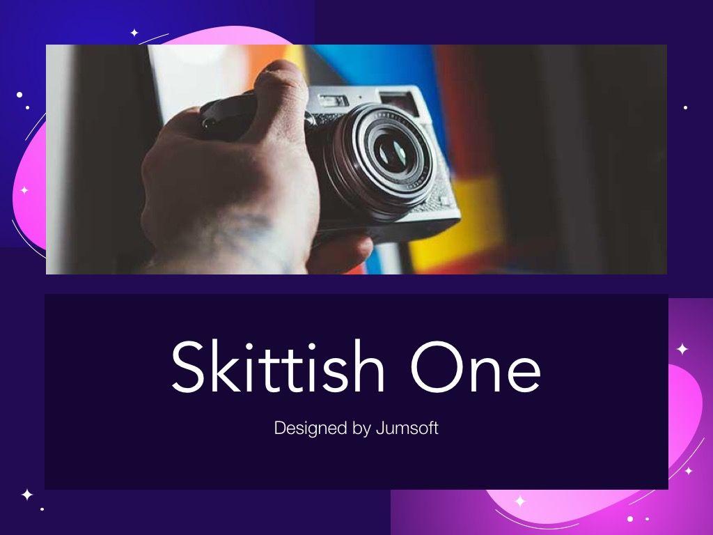 Skittish One Google Slides Template, Slide 2, 06085, Presentation Templates — PoweredTemplate.com