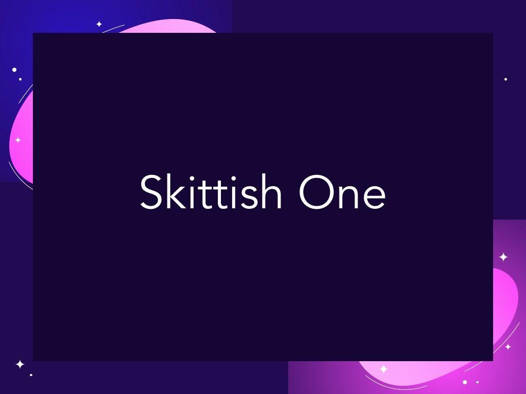 Skittish One Google Slides Template, Slide 8, 06085, Presentation Templates — PoweredTemplate.com