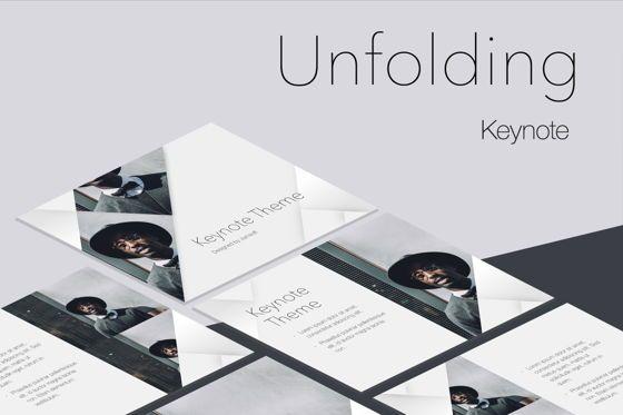 Presentation Templates: Unfolding Keynote Template #06086