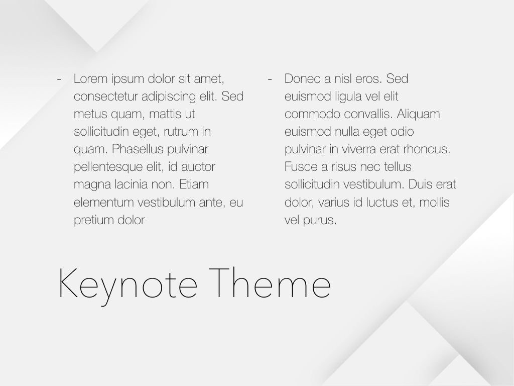 Unfolding Keynote Template, Slide 13, 06086, Presentation Templates — PoweredTemplate.com