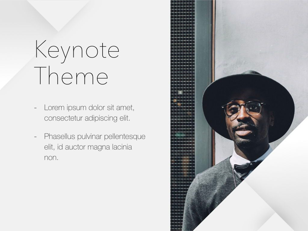 Unfolding Keynote Template, Slide 17, 06086, Presentation Templates — PoweredTemplate.com