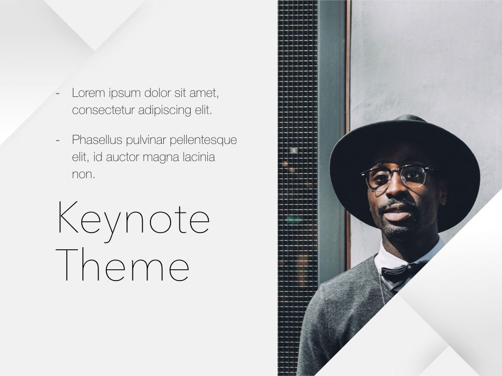 Unfolding Keynote Template, Slide 19, 06086, Presentation Templates — PoweredTemplate.com