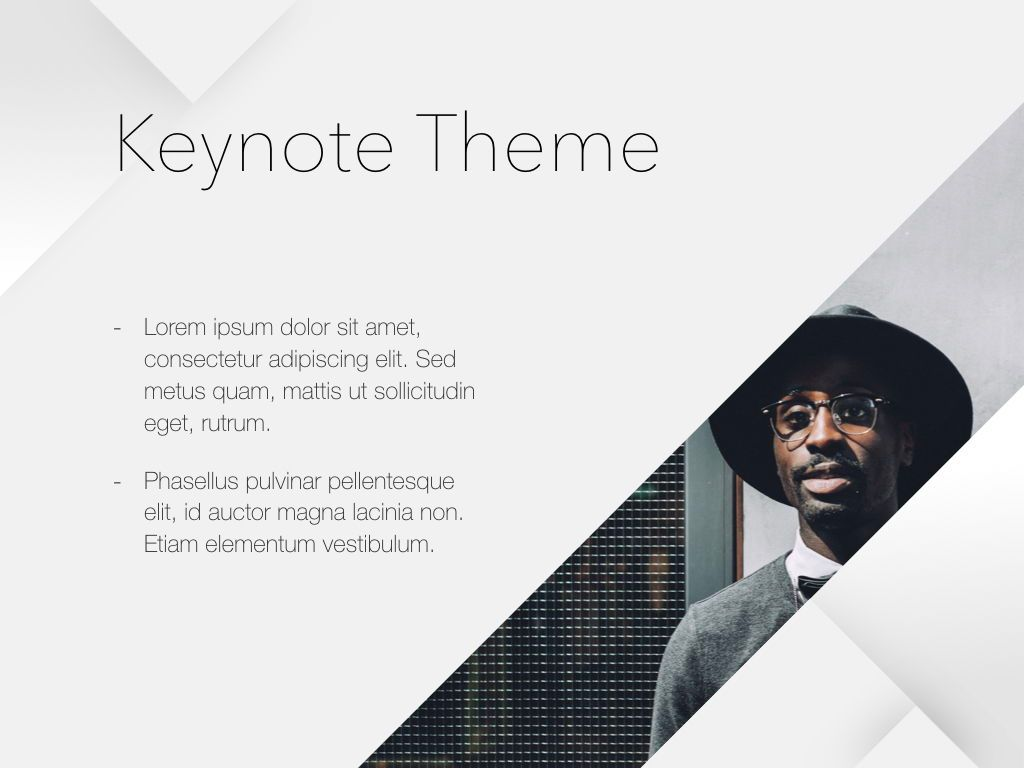Unfolding Keynote Template, Slide 30, 06086, Presentation Templates — PoweredTemplate.com