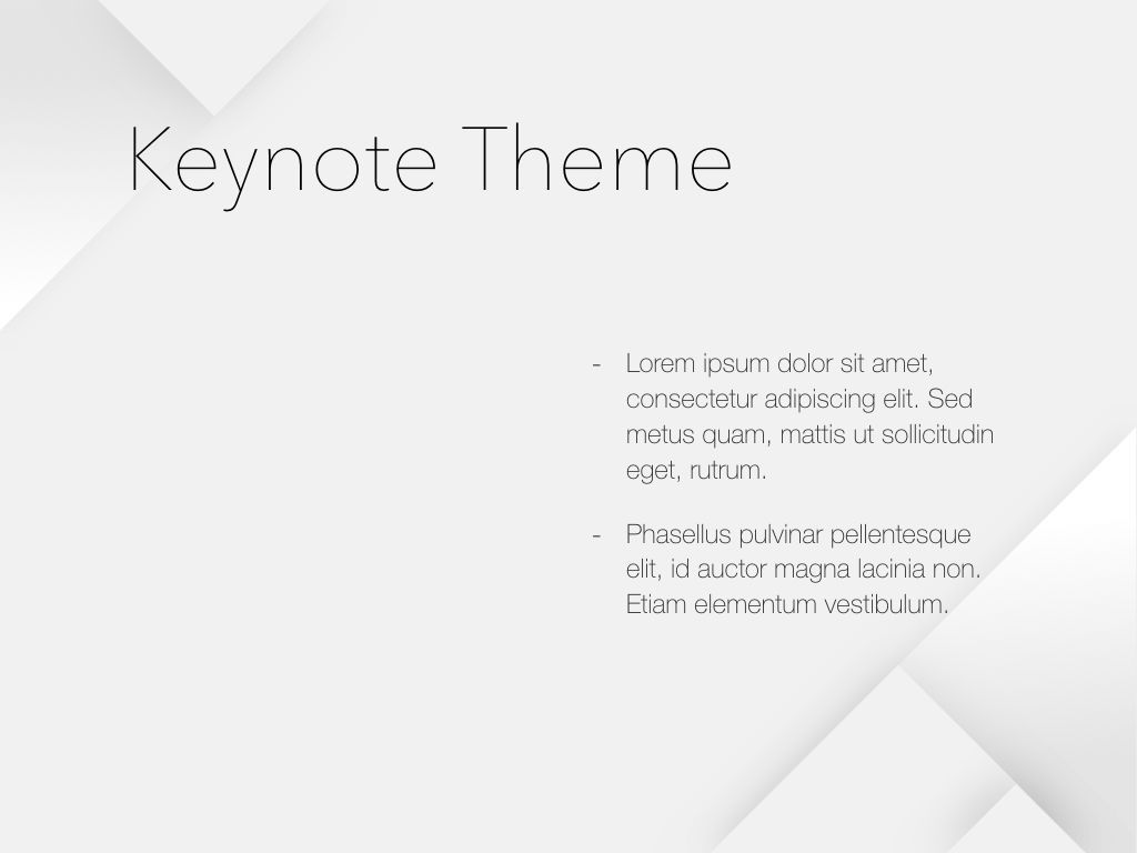 Unfolding Keynote Template, Slide 33, 06086, Presentation Templates — PoweredTemplate.com