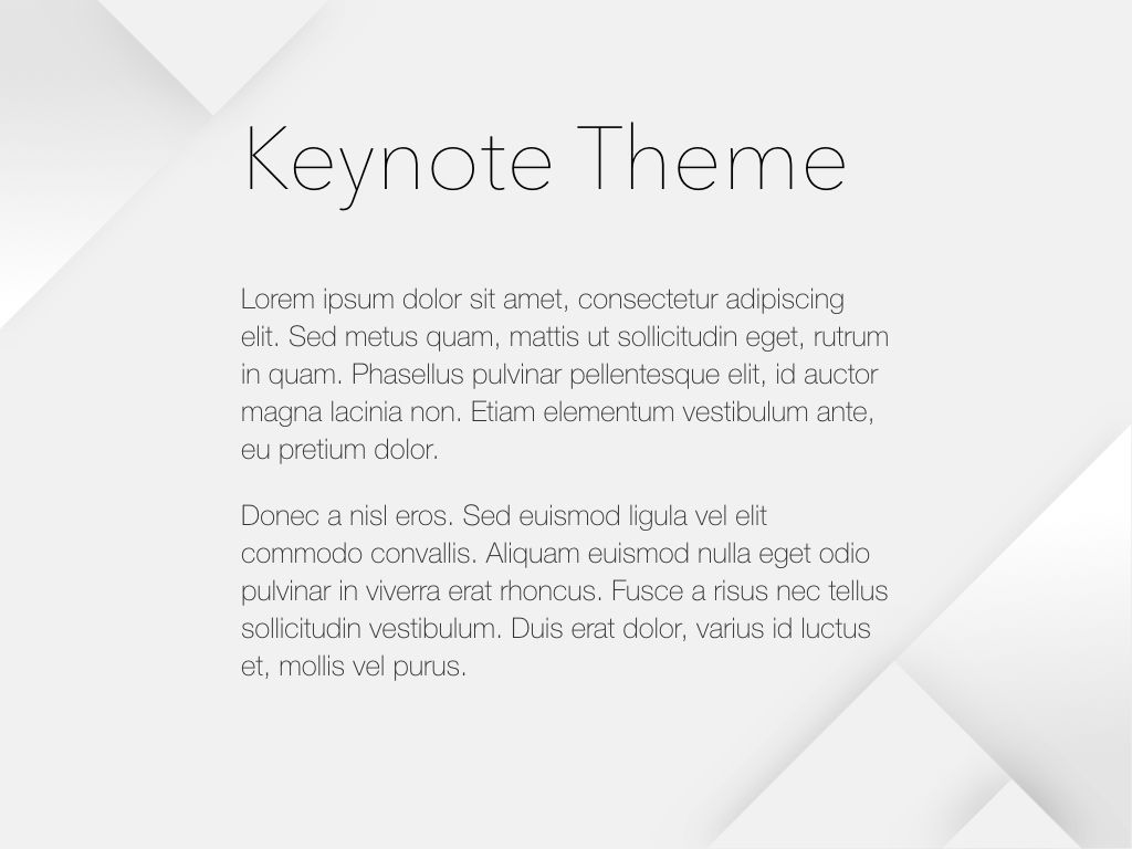 Unfolding Keynote Template, Slide 4, 06086, Presentation Templates — PoweredTemplate.com