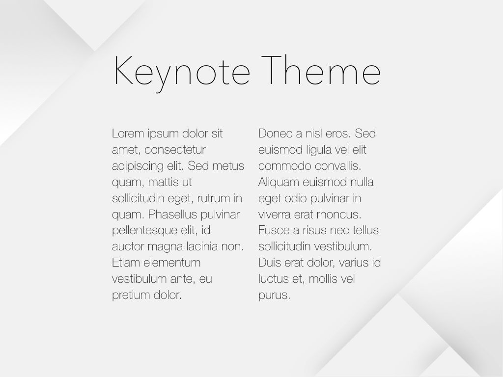 Unfolding Keynote Template, Slide 5, 06086, Presentation Templates — PoweredTemplate.com