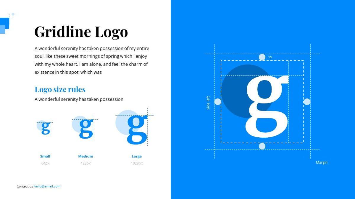 Gloria - Brandbook Powerpoint Template, Slide 17, 06087, Presentation Templates — PoweredTemplate.com