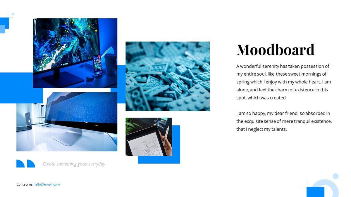 Gloria - Brandbook Powerpoint Template, Slide 22, 06087, Presentation Templates — PoweredTemplate.com