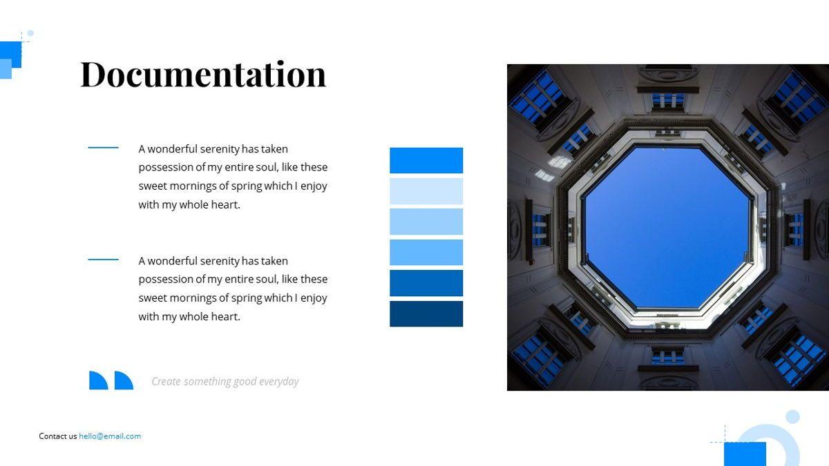 Gloria - Brandbook Powerpoint Template, Slide 23, 06087, Presentation Templates — PoweredTemplate.com