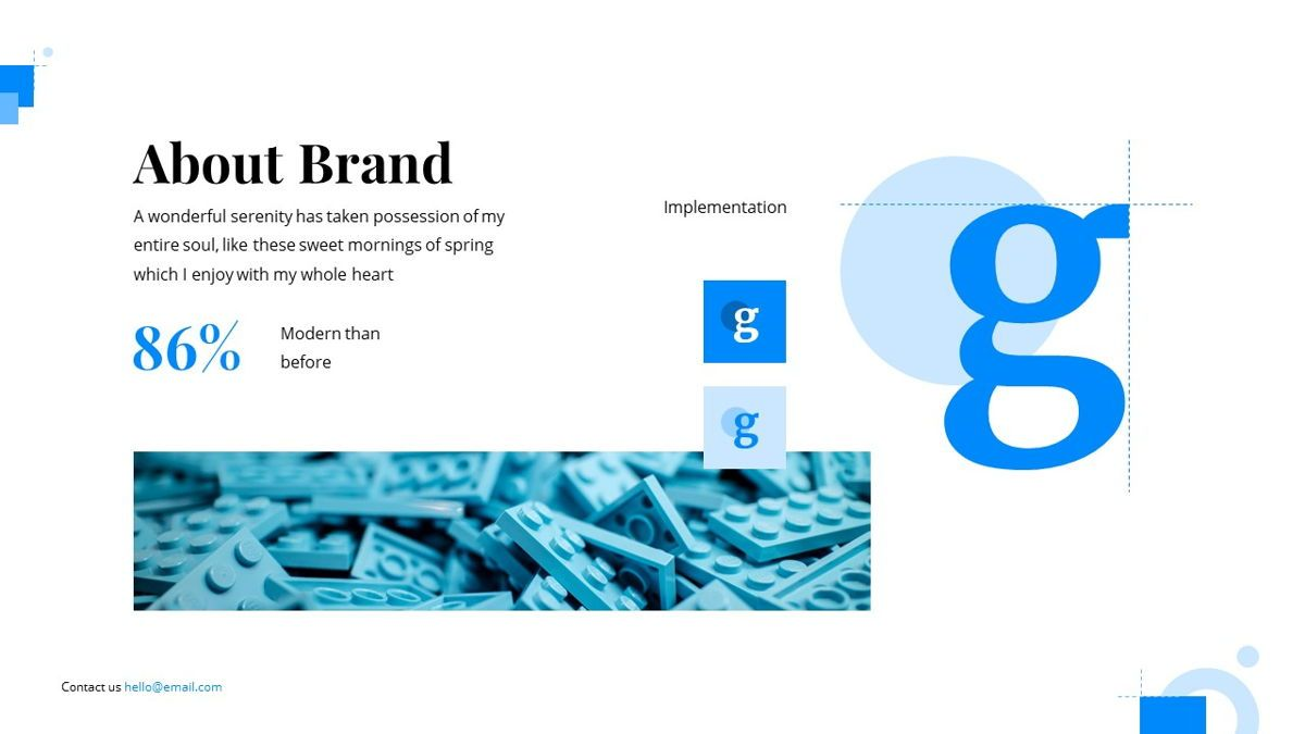 Gloria - Brandbook Powerpoint Template, Slide 5, 06087, Presentation Templates — PoweredTemplate.com