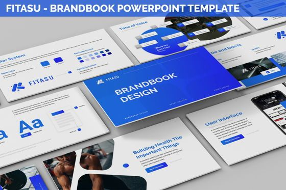 Icons: Fitasu - Brandbook Powerpoint Template #06088