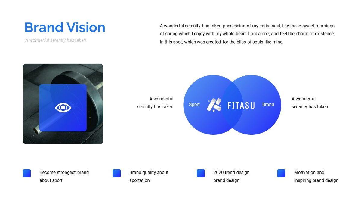 Fitasu - Brandbook Powerpoint Template, Slide 10, 06088, Icons — PoweredTemplate.com