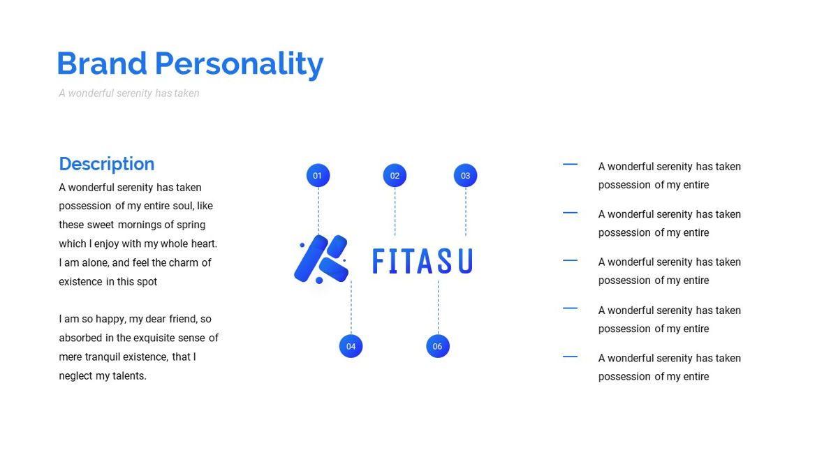 Fitasu - Brandbook Powerpoint Template, Slide 11, 06088, Icons — PoweredTemplate.com