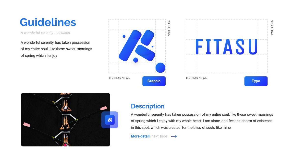 Fitasu - Brandbook Powerpoint Template, Slide 13, 06088, Icons — PoweredTemplate.com