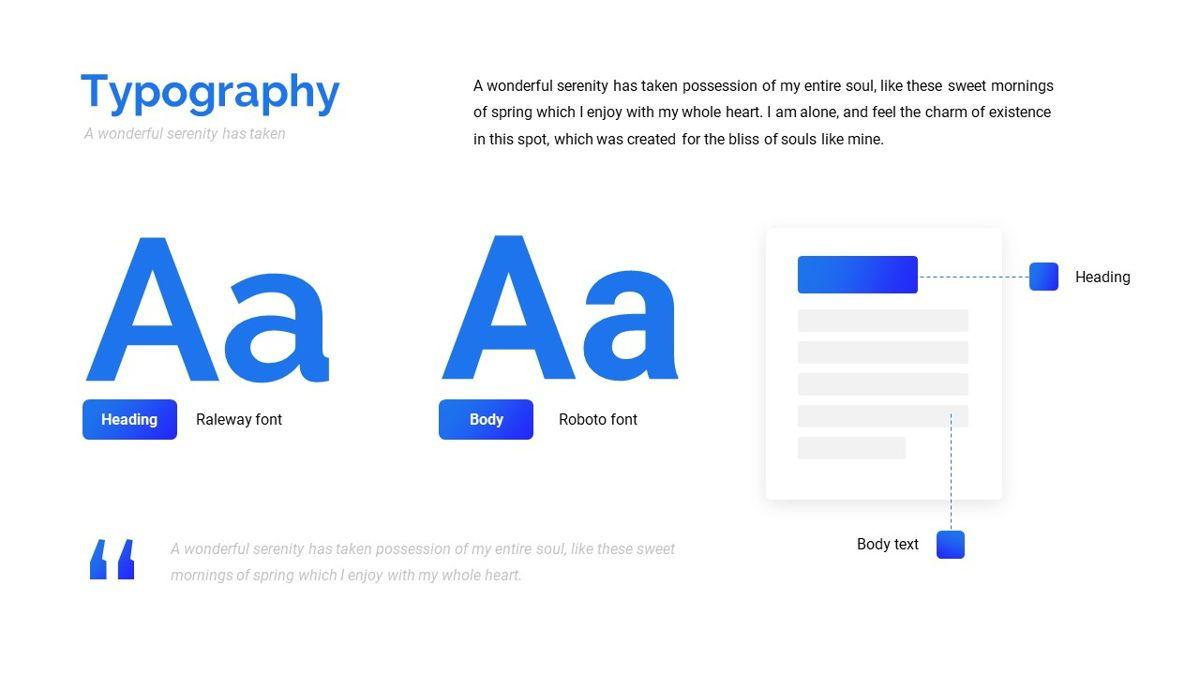 Fitasu - Brandbook Powerpoint Template, Slide 15, 06088, Icons — PoweredTemplate.com