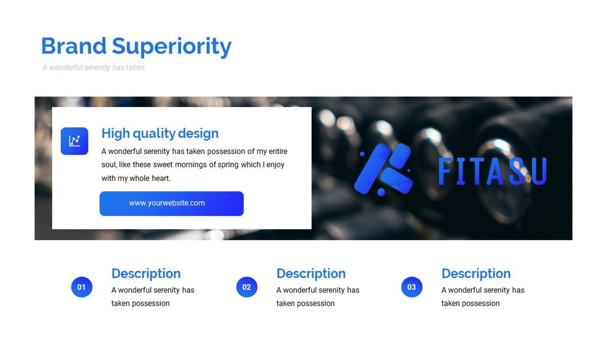 Fitasu - Brandbook Powerpoint Template, Slide 19, 06088, Icons — PoweredTemplate.com