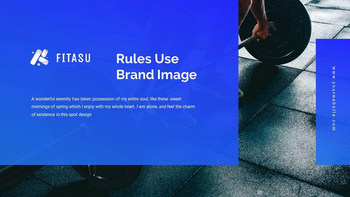 Fitasu - Brandbook Powerpoint Template, Slide 20, 06088, Icons — PoweredTemplate.com