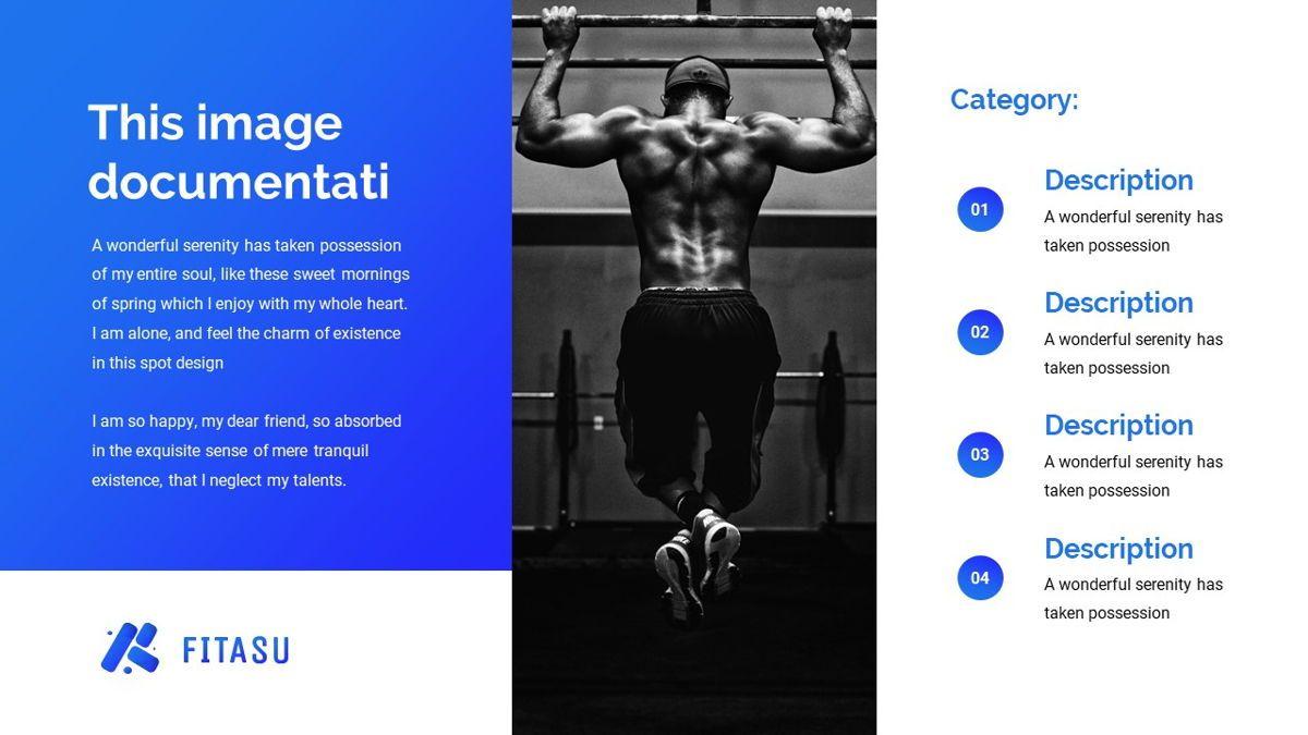 Fitasu - Brandbook Powerpoint Template, Slide 21, 06088, Icons — PoweredTemplate.com