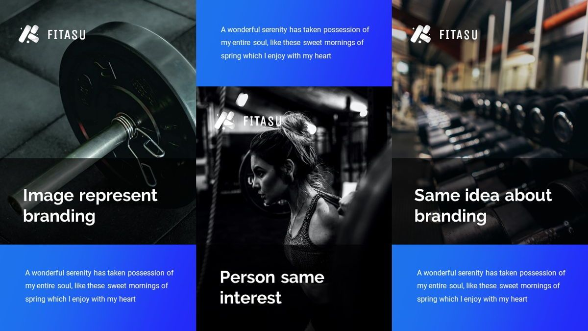 Fitasu - Brandbook Powerpoint Template, Slide 23, 06088, Icons — PoweredTemplate.com