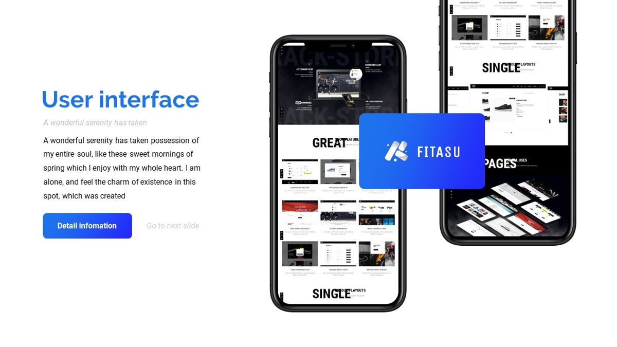 Fitasu - Brandbook Powerpoint Template, Slide 24, 06088, Icons — PoweredTemplate.com