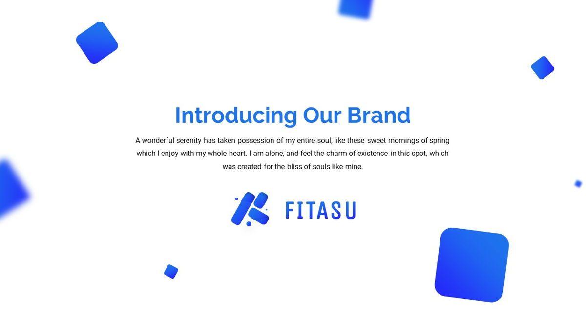 Fitasu - Brandbook Powerpoint Template, Slide 3, 06088, Icons — PoweredTemplate.com