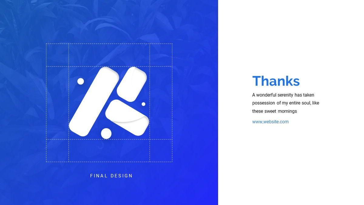 Fitasu - Brandbook Powerpoint Template, Slide 31, 06088, Icons — PoweredTemplate.com