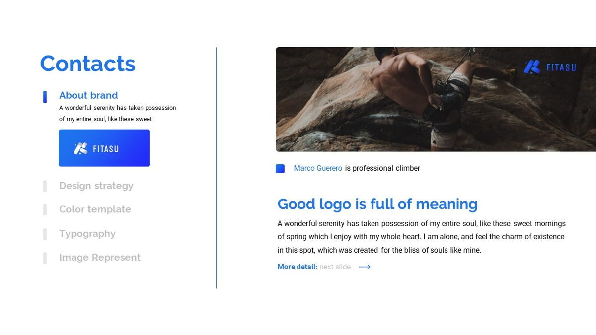 Fitasu - Brandbook Powerpoint Template, Slide 4, 06088, Icons — PoweredTemplate.com
