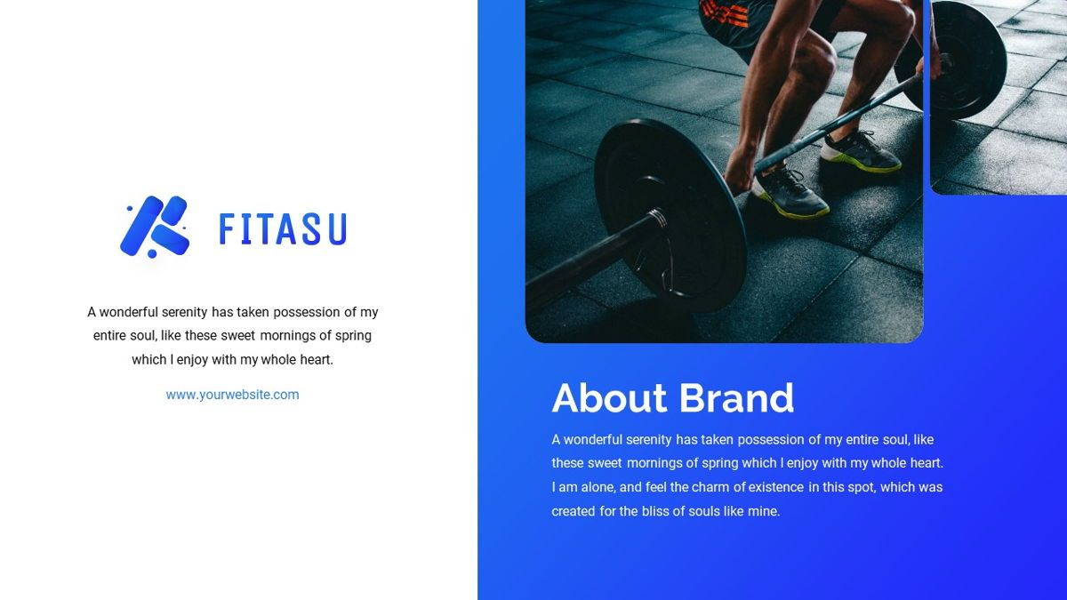 Fitasu - Brandbook Powerpoint Template, Slide 5, 06088, Icons — PoweredTemplate.com
