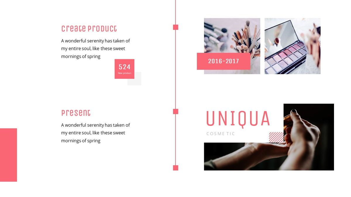 Uniqua - Cosmetics Powerpoint Template, Slide 11, 06089, Data Driven Diagrams and Charts — PoweredTemplate.com