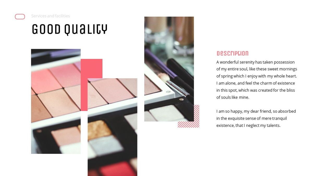 Uniqua - Cosmetics Powerpoint Template, Slide 13, 06089, Data Driven Diagrams and Charts — PoweredTemplate.com