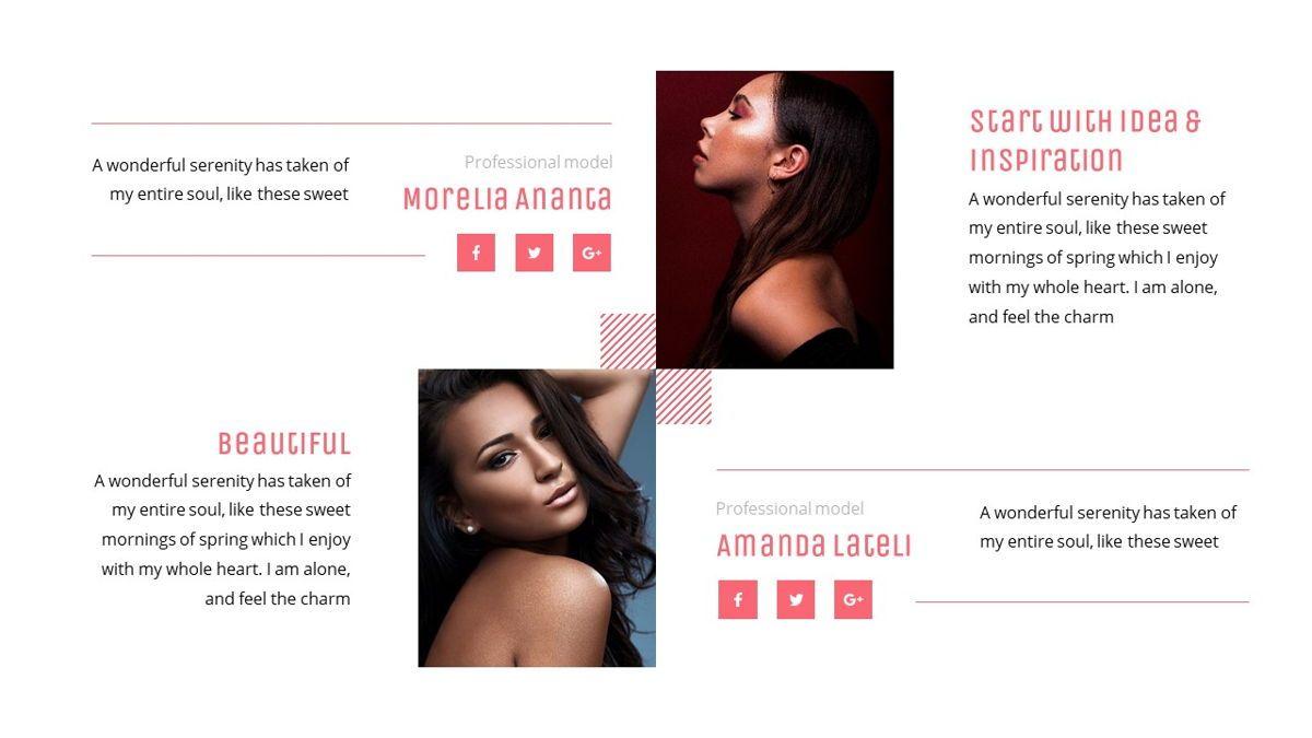 Uniqua - Cosmetics Powerpoint Template, Slide 16, 06089, Data Driven Diagrams and Charts — PoweredTemplate.com